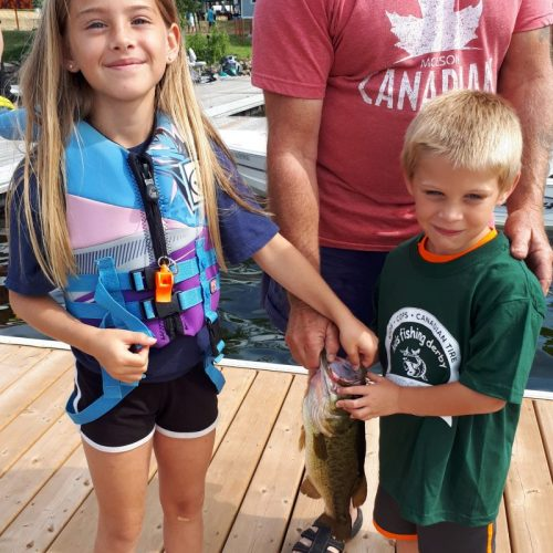 Chandos Lake Kids' Fishing Derby 5