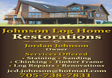 Johnson Log Home