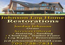 Johnson Log Home